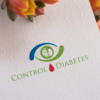 control diabetes logo design